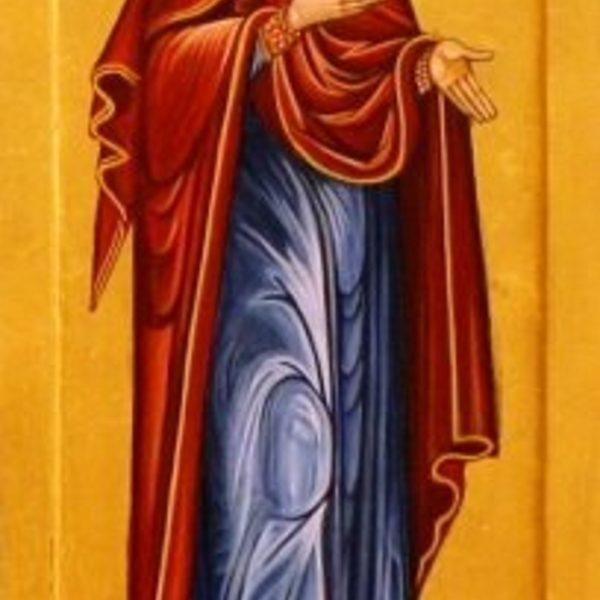 Jomfru Maria 34x15 kr. 2800