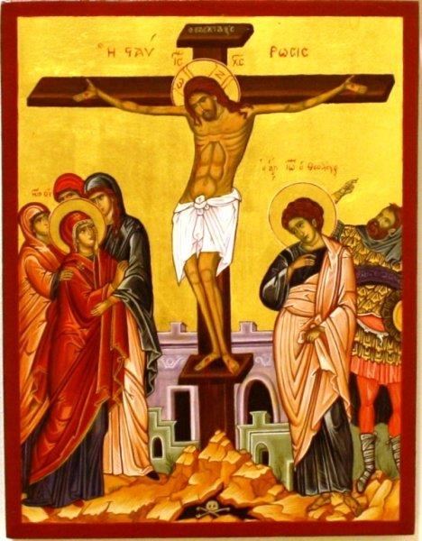 Korsfæstelsen 36x28 kr. 6000