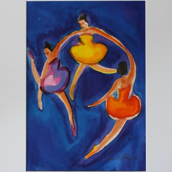 3 dansere A 29x20 kr. 1.600