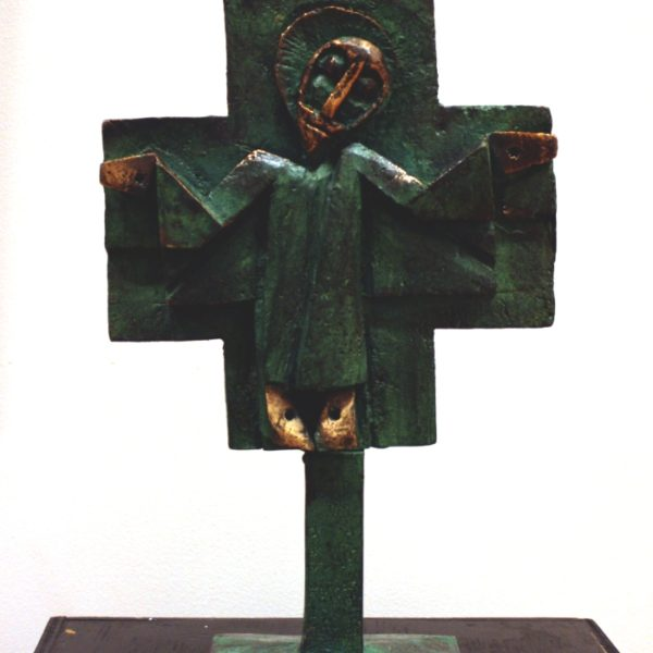 Bronze-krucifiks 33x20 kr. 34.000
