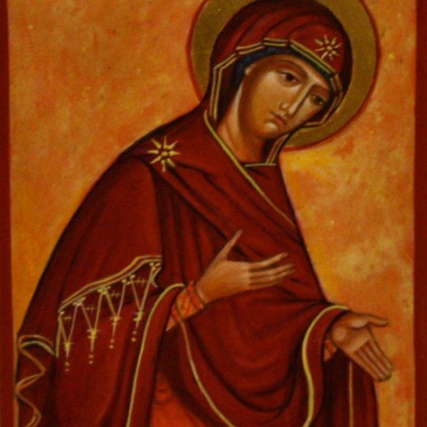 Jomfru Maria 14x10 kr. 850