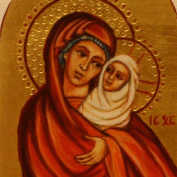 Lille Jomfru Maria 12x8 kr. 750