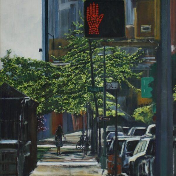 Dumbo Sidewalk, NYC 120x80 12.000