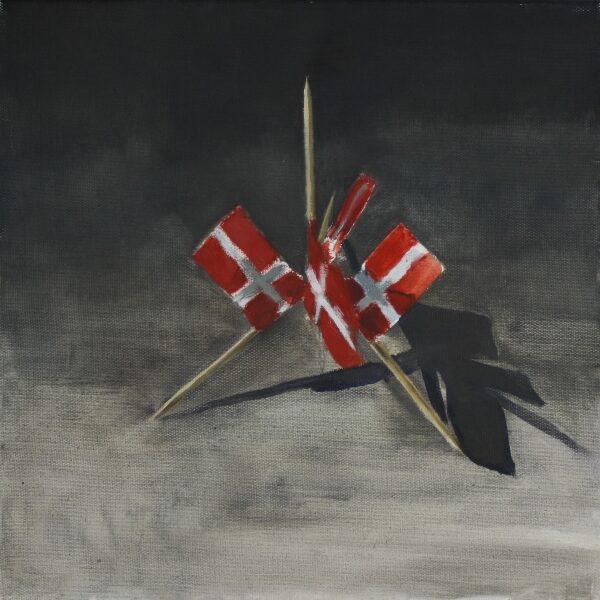 Konstruktion med kageflag 30x30 2.000