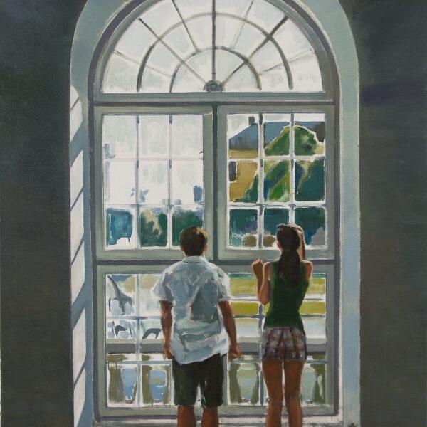 Par ved vindue 105x80 10.000