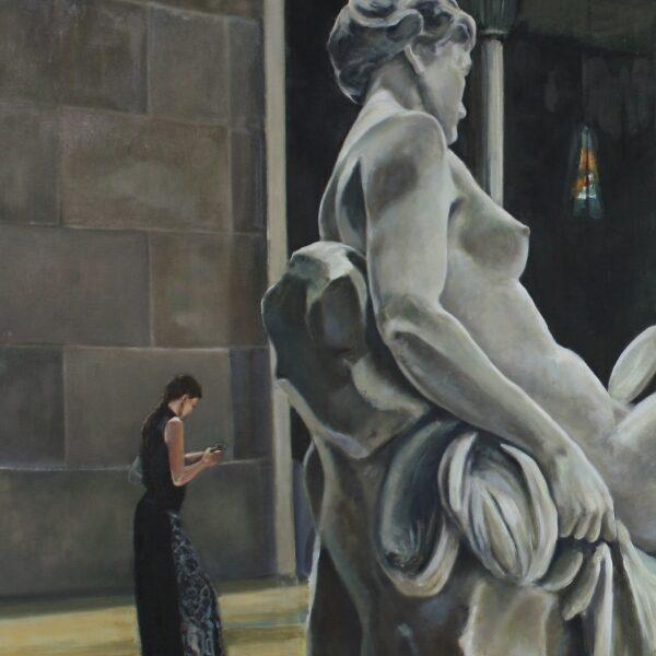 Spectators, Metropolitan Museum NYC 120x80 12.000