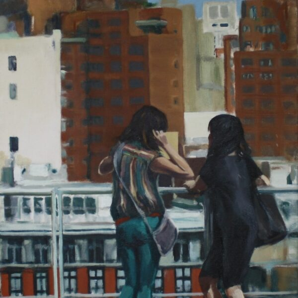 View from Whitney, NYC 60x40 3.500