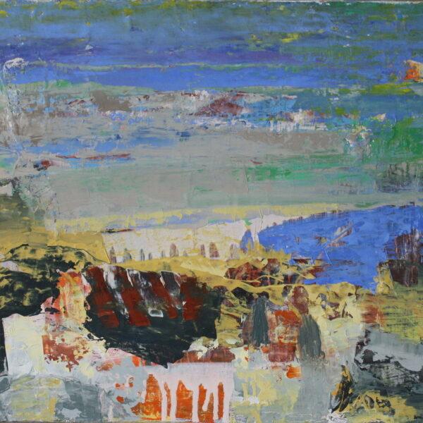 Norrønt landskab 40x60 kr. 5.500