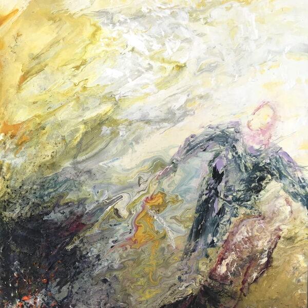 Abraham og Isak 60x45 5500