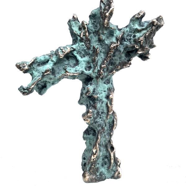 Livstræ. Kors Bronze 27x25 9000